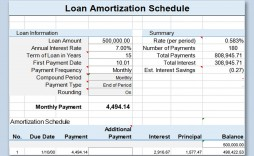 001 Imposing Loan Amortization Template Excel Design  Schedule Free 2010