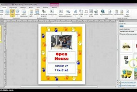 001 Imposing Microsoft Publisher Free Template Sample  2007 Brochure Download M