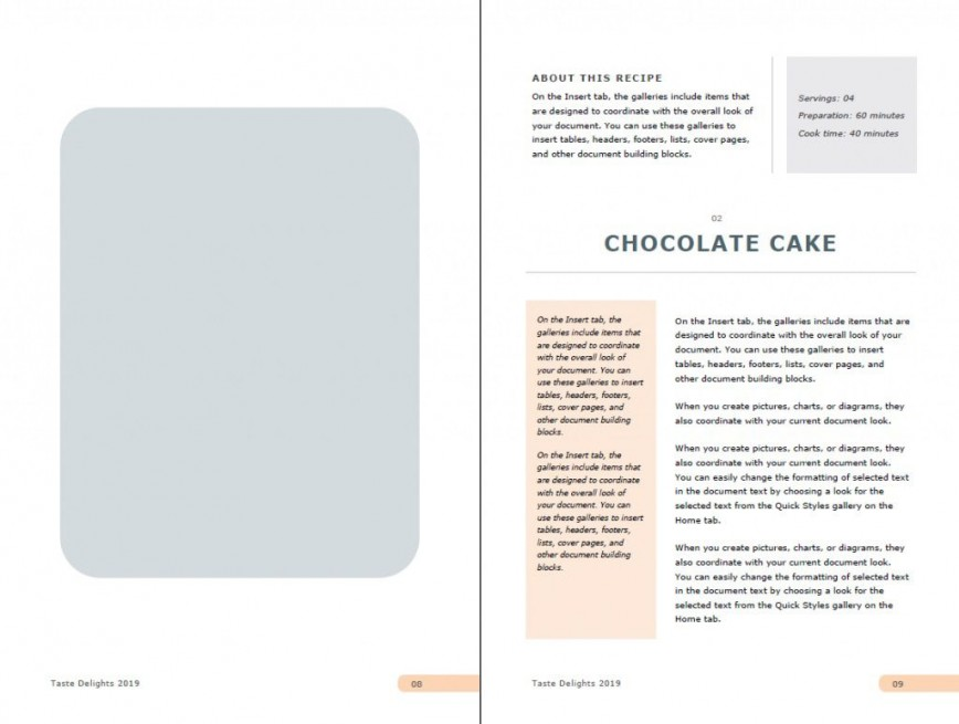 Free Cookbook Template Microsoft Word from www.addictionary.org
