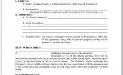 001 Imposing Residential Purchase Agreement Template Photo  California Form Free