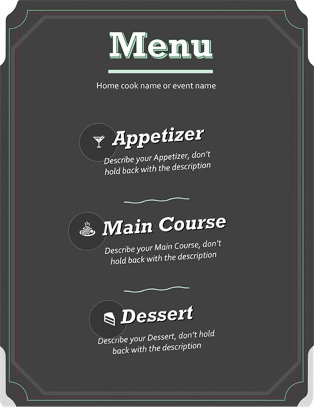 001 Imposing Restaurant Menu Template Free Download Idea Large