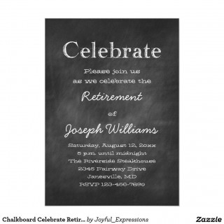001 Imposing Retirement Party Invite Template Word Free Sample 320