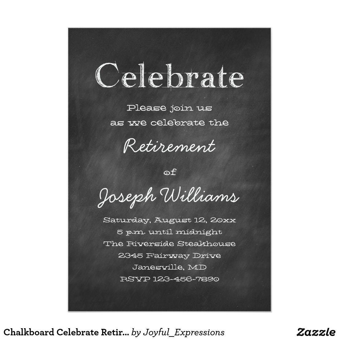 001 Imposing Retirement Party Invite Template Word Free Sample Full