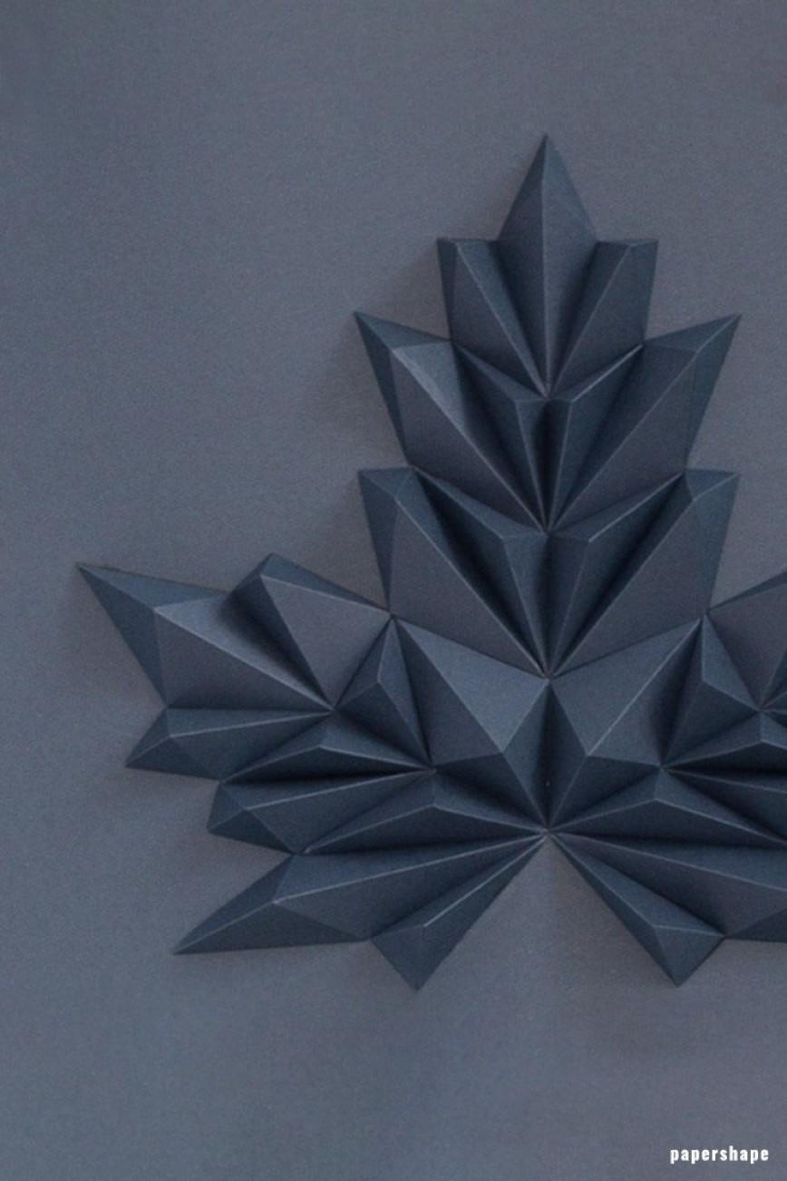 001 Impressive 3d Paper Art Template Idea  Templates Pdf Free