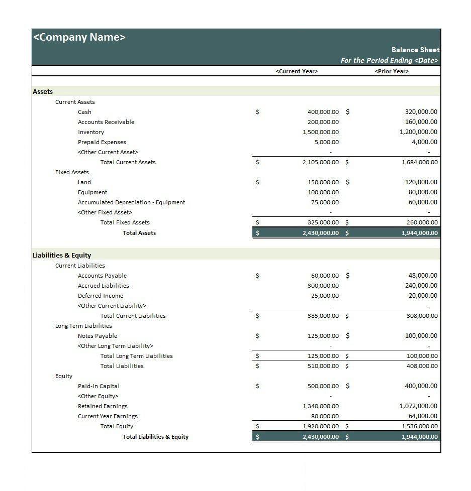 001 Impressive Basic Balance Sheet Template Example  Simple Free For Self Employed UkFull