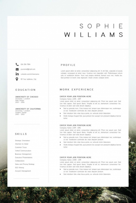 001 Impressive Best Professional Resume Template Picture  Reddit 2020 DownloadLarge