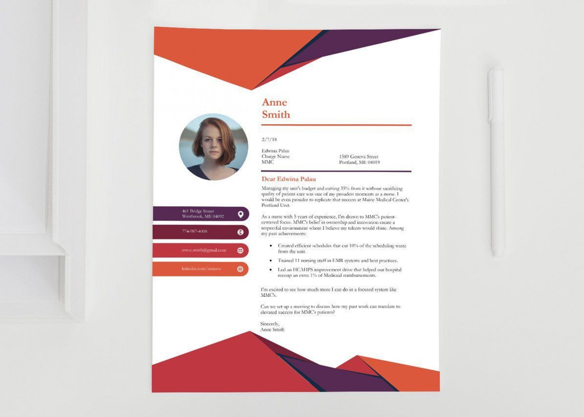 001 Impressive Download Cover Letter Template In Microsoft Word Highest Clarity  Free Creative Resume1920