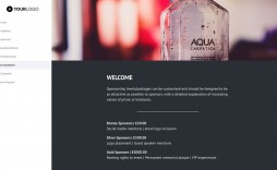 001 Impressive Event Sponsorship Proposal Template Free Word Image