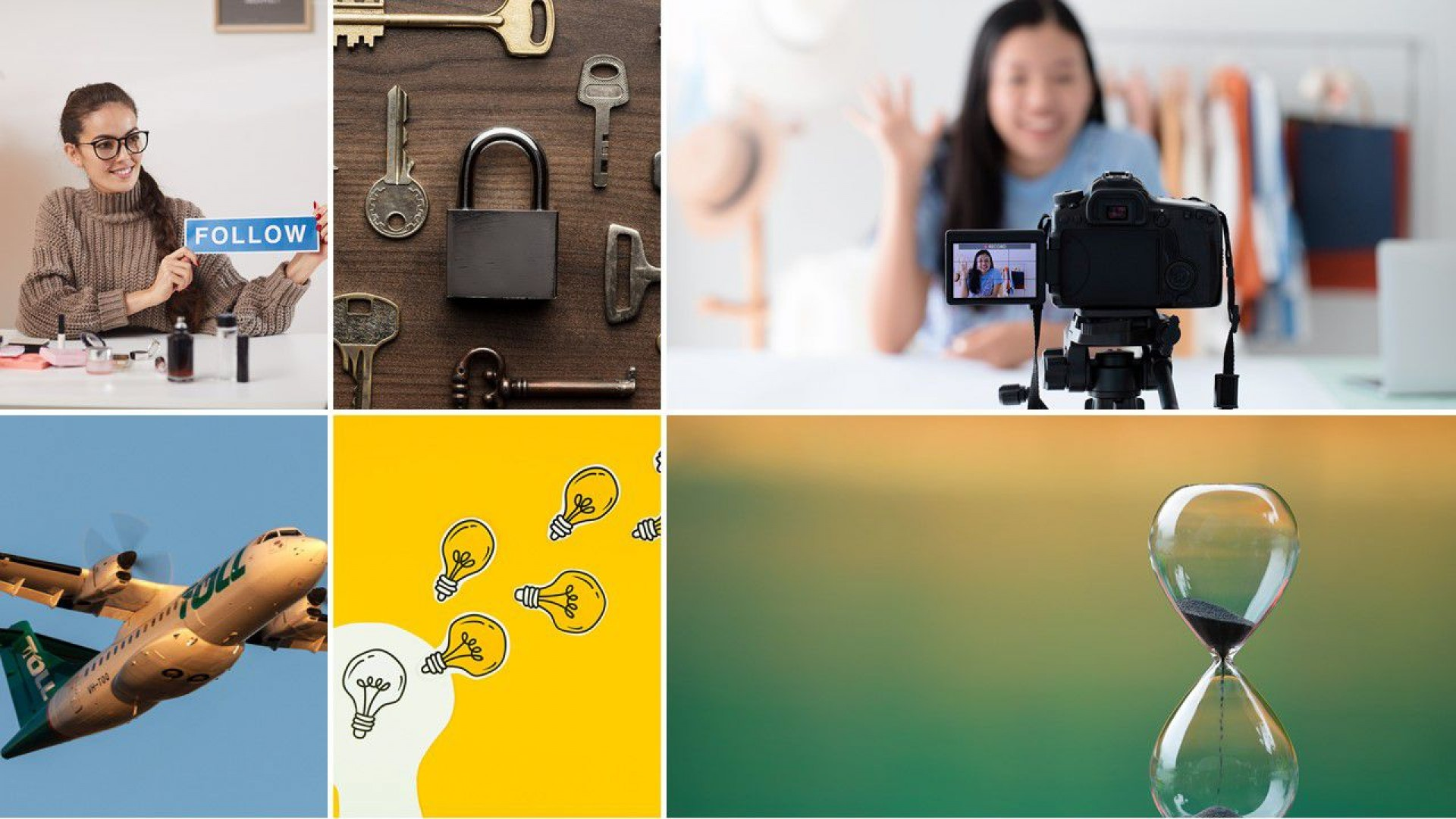 001 Impressive Free Photo Collage Template For Powerpoint Inspiration 1920