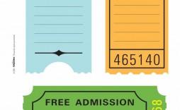 001 Impressive Free Printable Ticket Stub Template Sample