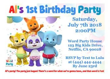 001 Impressive Microsoft Word Birthday Invitation Template High Resolution  Editable 50th 60th360