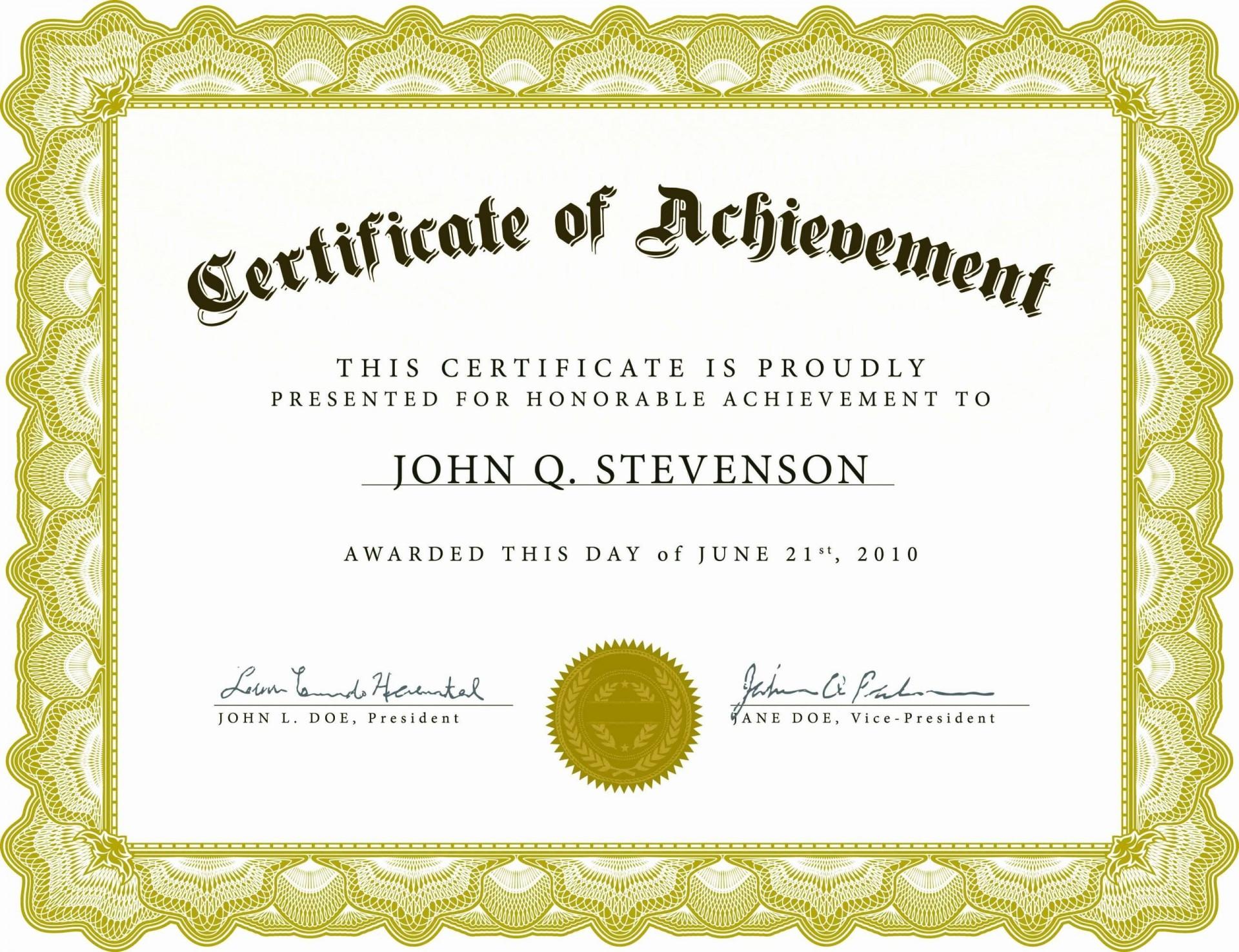001 Impressive Microsoft Word Certificate Template Design  2003 Award M Appreciation Of Authenticity1920