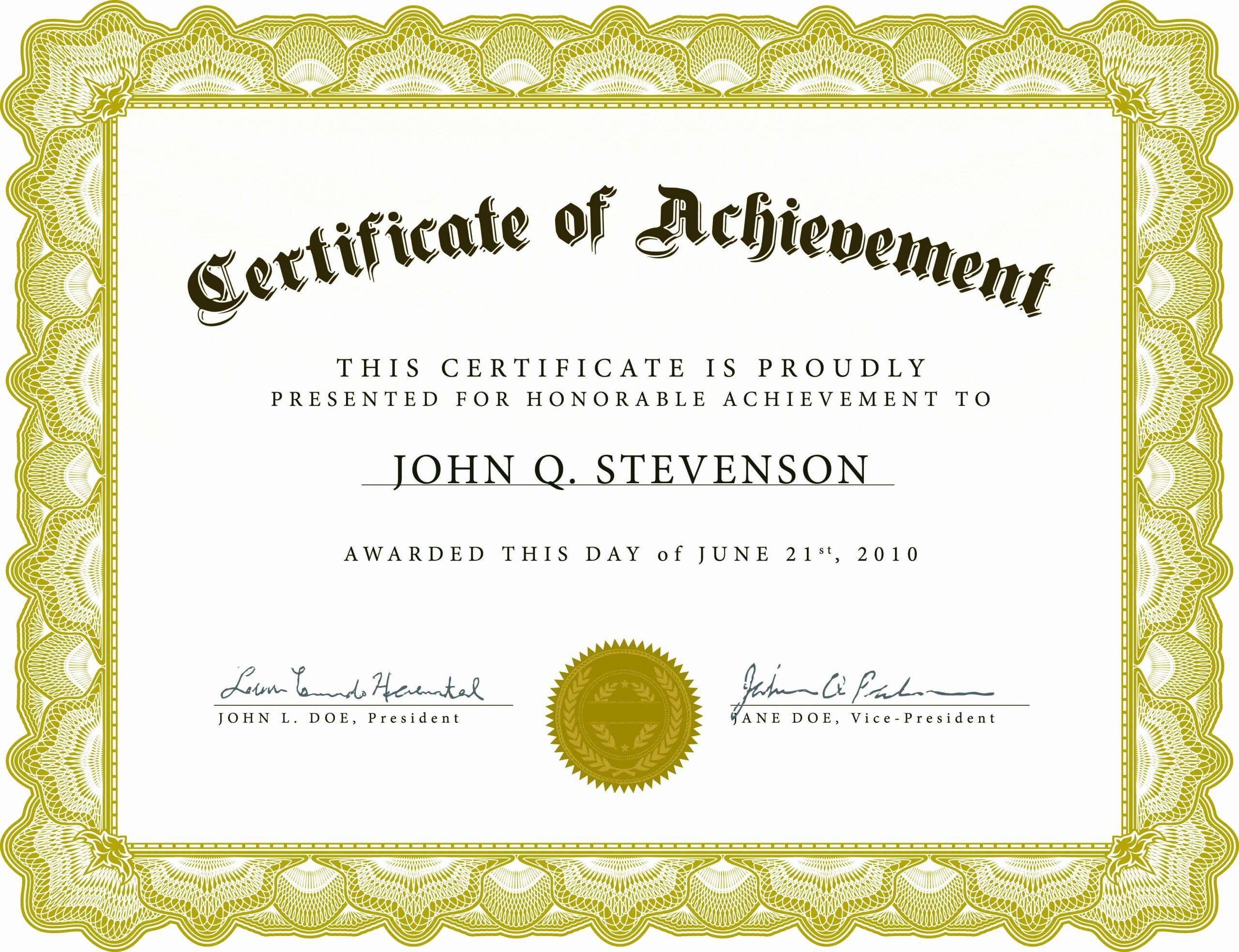 001 Impressive Microsoft Word Certificate Template Design  2003 Award M Appreciation Of AuthenticityFull