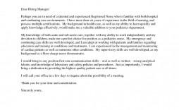 001 Impressive Nursing Cover Letter Template Highest Clarity  New Grad Word School