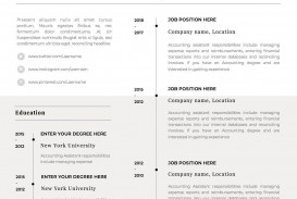 001 Impressive One Page Resume Template Idea  Word Free For Fresher Ppt Download Html