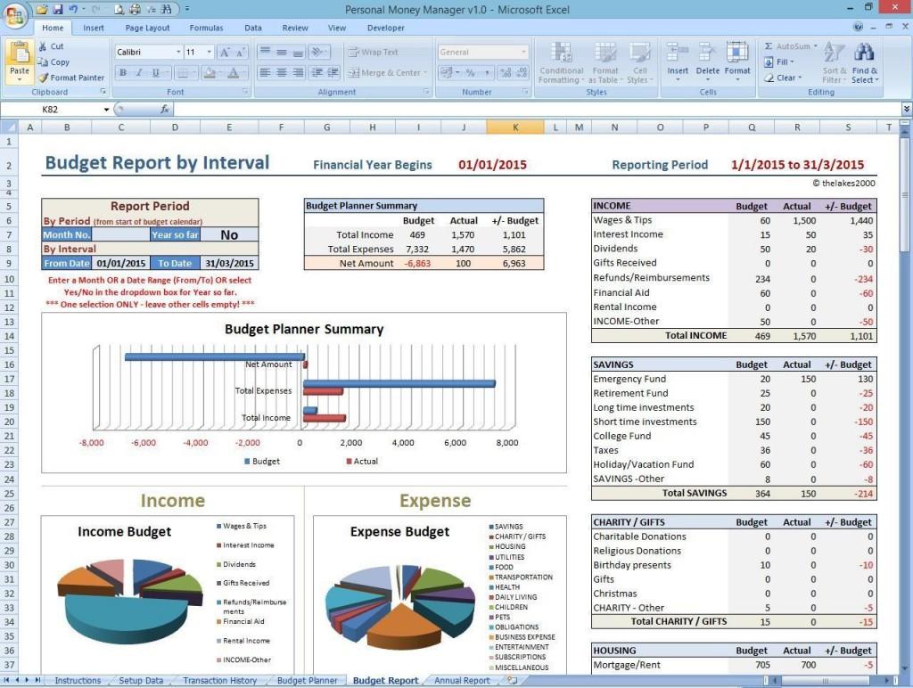 001 Impressive Personal Finance Excel Template Uk High Definition Large