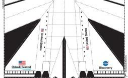 001 Impressive Printable Paper Airplane Pattern Photo  Patterns Free Instruction Pdf Design Template