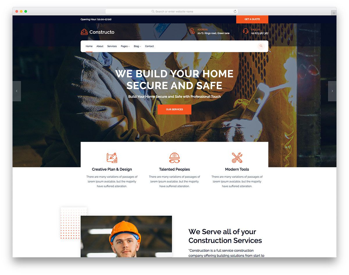 001 Impressive Professional Busines Website Template Free Download Highest Quality  Bootstrap WordpresFull