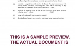 001 Impressive Rental Property Management Contract Sample Image  Vacation Template