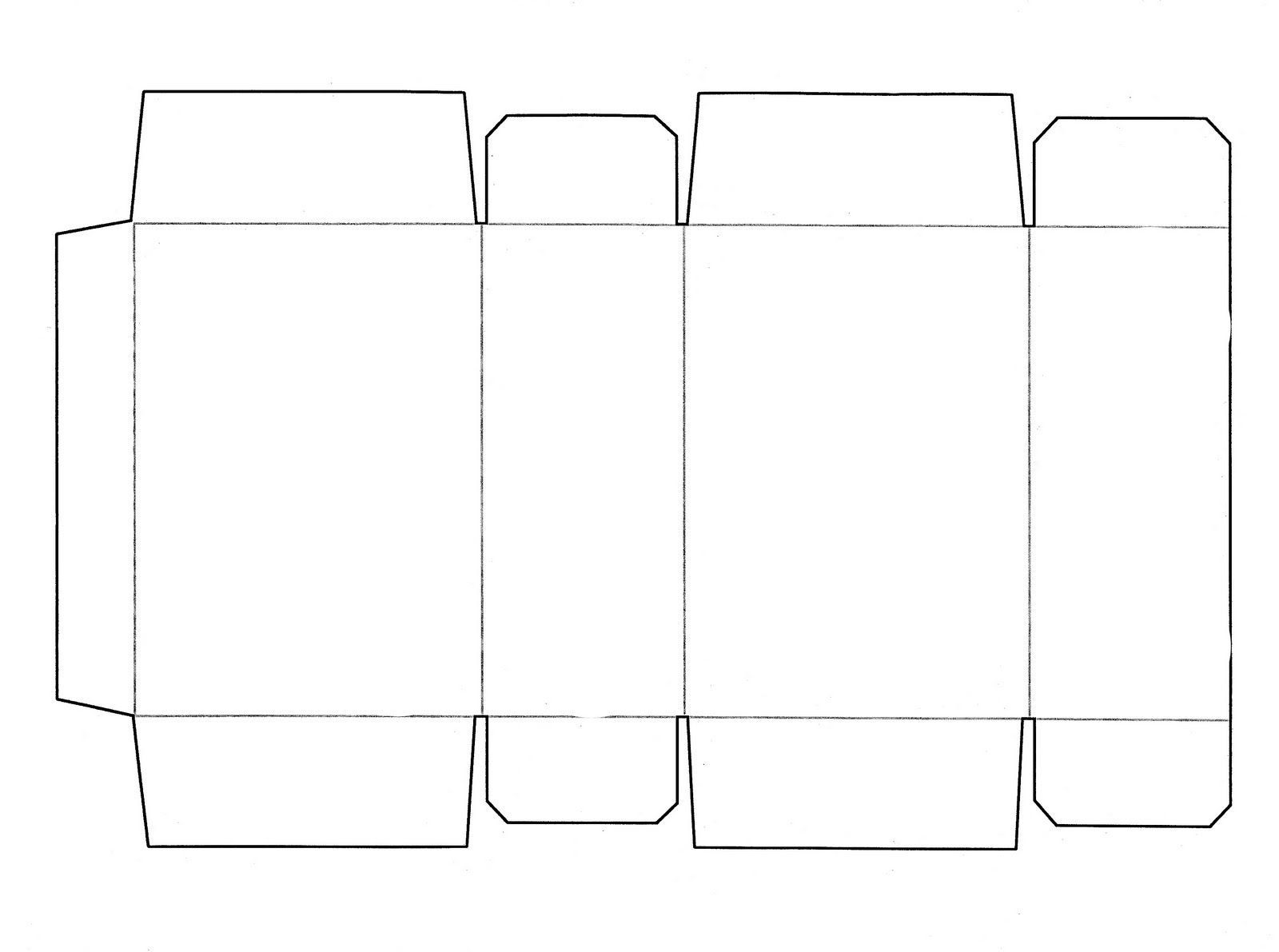 001 Impressive Square Box Template Free Printable Idea Full