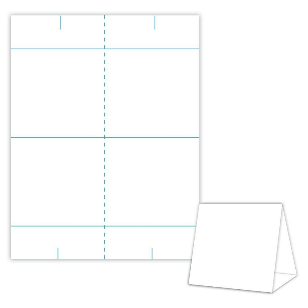 001 Impressive Tri Fold Table Tent Template Idea  Card Word FreeLarge