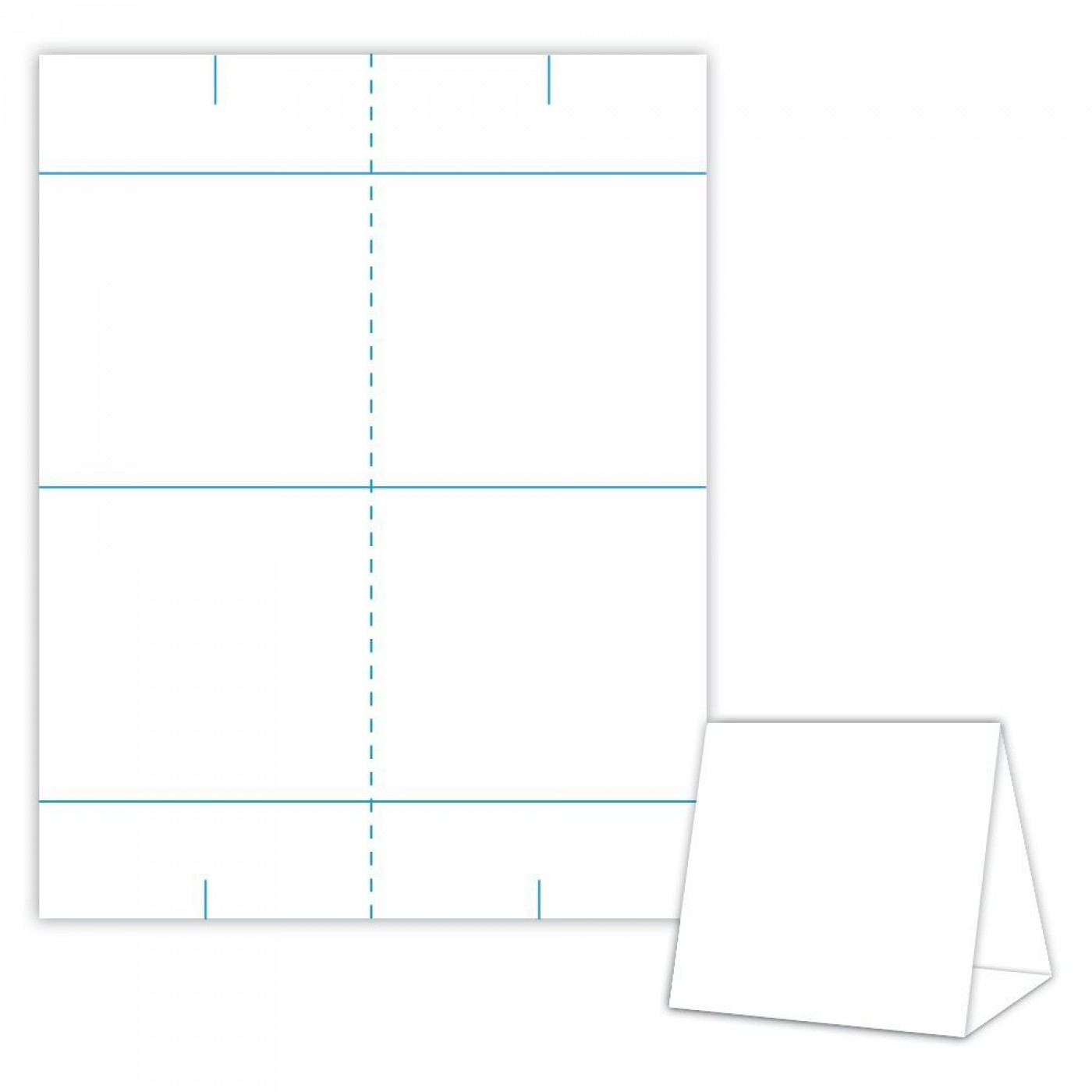 001 Impressive Tri Fold Table Tent Template Idea  Card Word Free1400