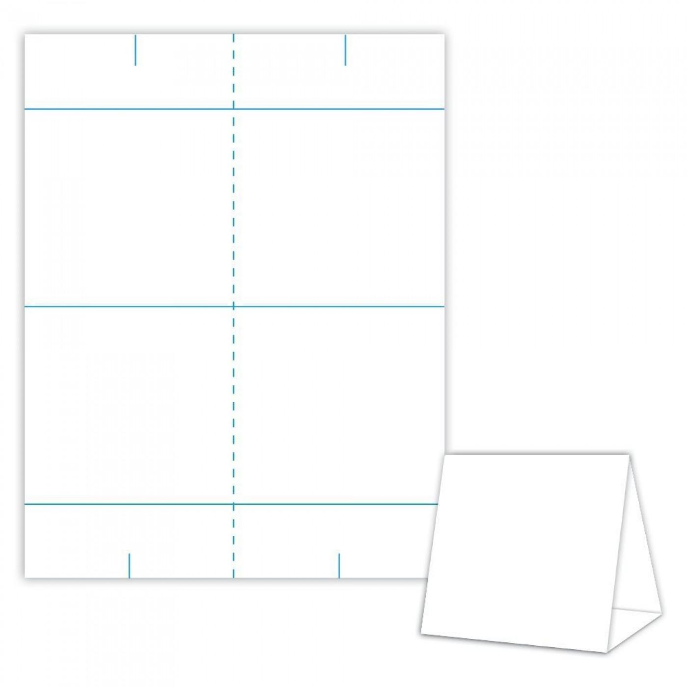 001 Impressive Tri Fold Table Tent Template Idea  Free Word1400