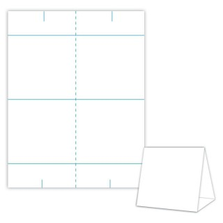 001 Impressive Tri Fold Table Tent Template Idea  Card Word Free320
