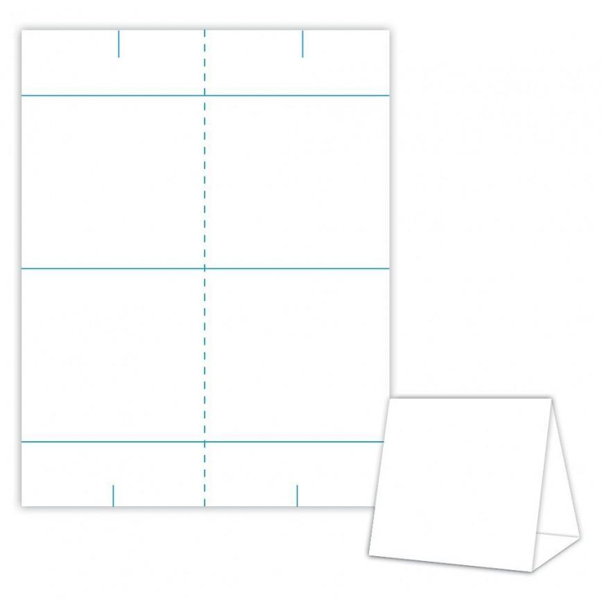 001 Impressive Tri Fold Table Tent Template Idea  Free Word868