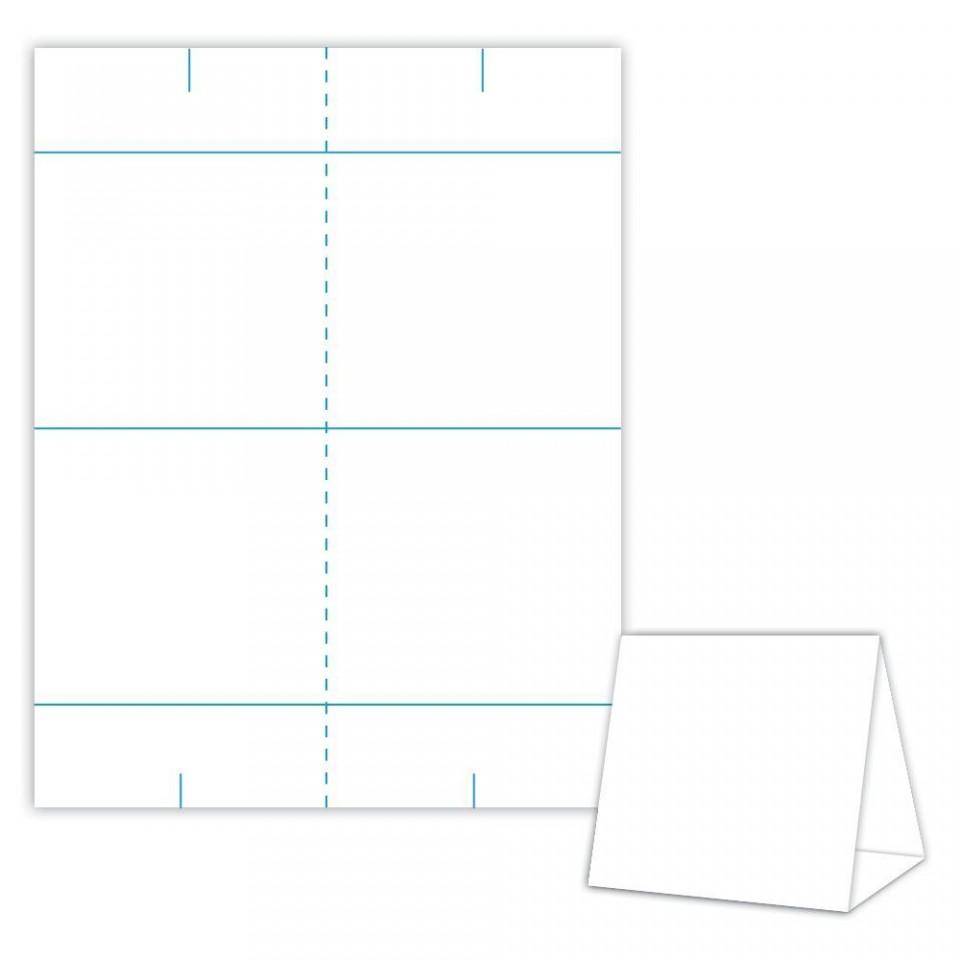001 Impressive Tri Fold Table Tent Template Idea  Free Word960