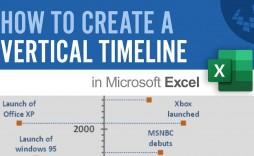 001 Impressive Vertical Timeline Template For Word High Definition  Blank
