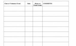 001 Impressive Volunteer Hour Form Template High Def  Service Community Pdf