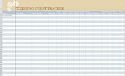 001 Impressive Wedding Guest List Template Excel Download Idea