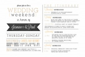 001 Impressive Wedding Weekend Itinerary Template Concept  Day Timeline Word Sample