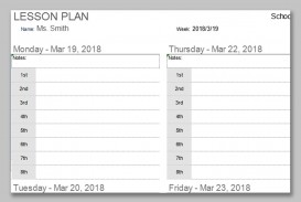 001 Impressive Weekly Lesson Plan Template Photo  Preschool Google Doc Editable