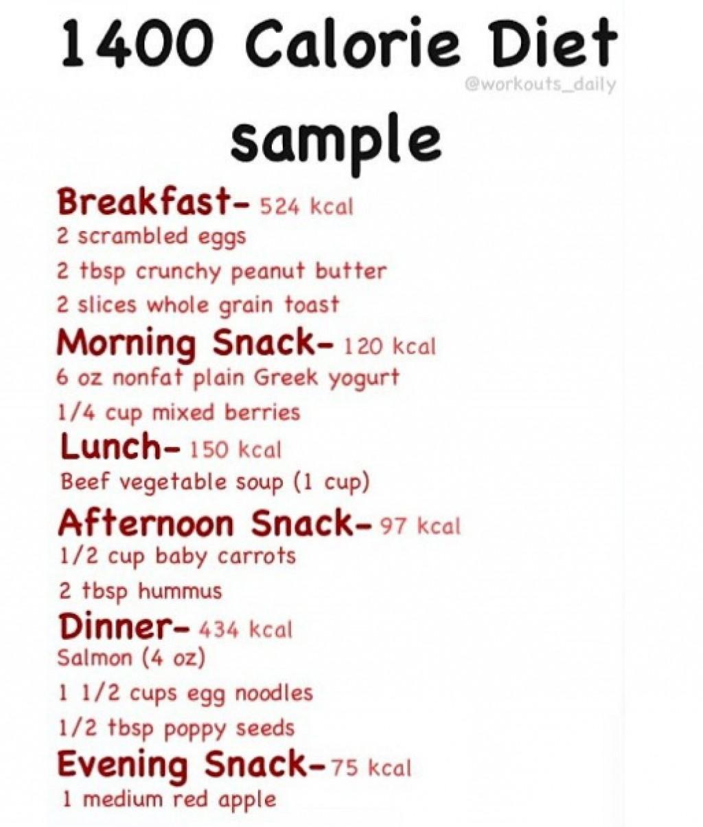 001 Incredible 1400 Calorie Sample Meal Plan Pdf Design Large
