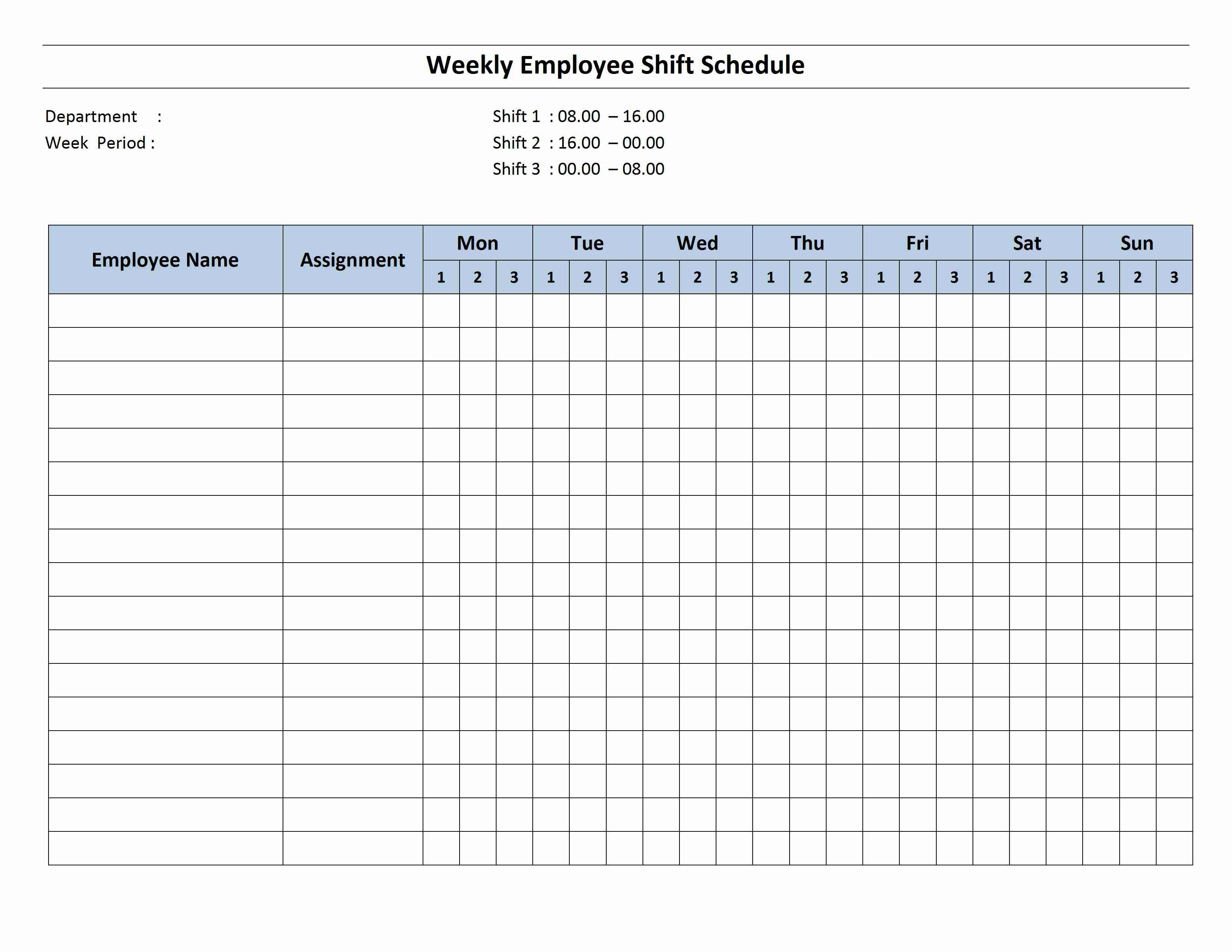 001 Incredible 8 Hour Shift Schedule Template Idea  Best Rotating Example Work DayFull