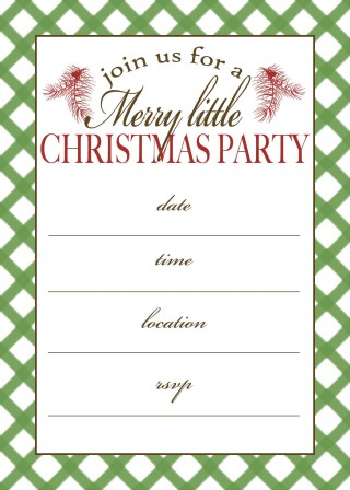 001 Incredible Christma Party Invitation Template Sample  Funny Free Download Word Card320