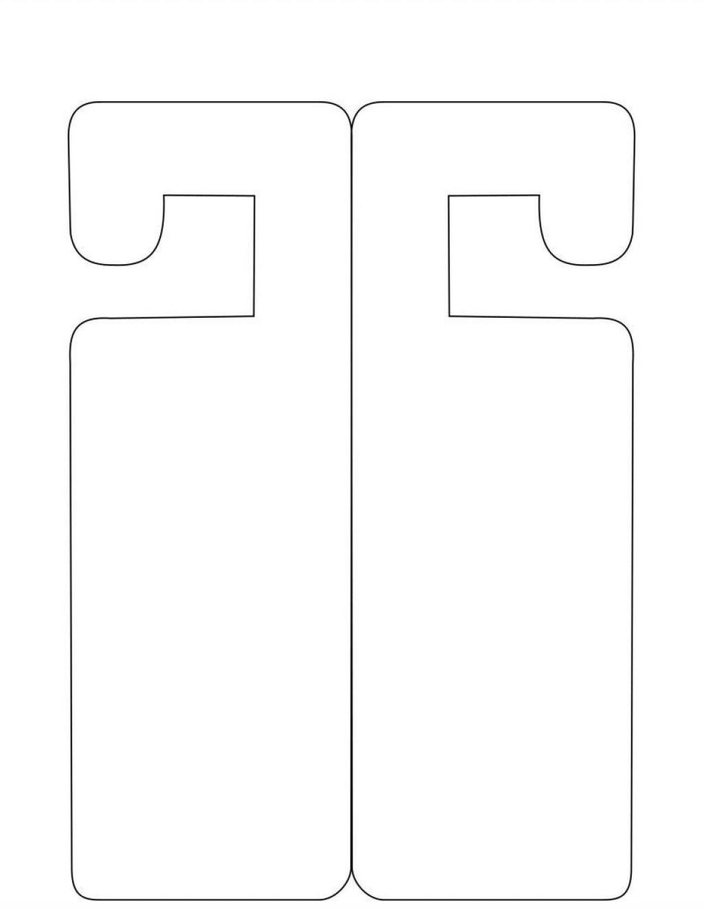 001 Incredible Door Hanger Template For Word Inspiration  Download Free Wedding MicrosoftLarge