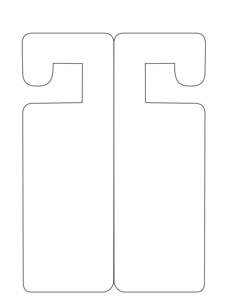001 Incredible Door Hanger Template For Word Inspiration  Download Free Wedding MicrosoftFull