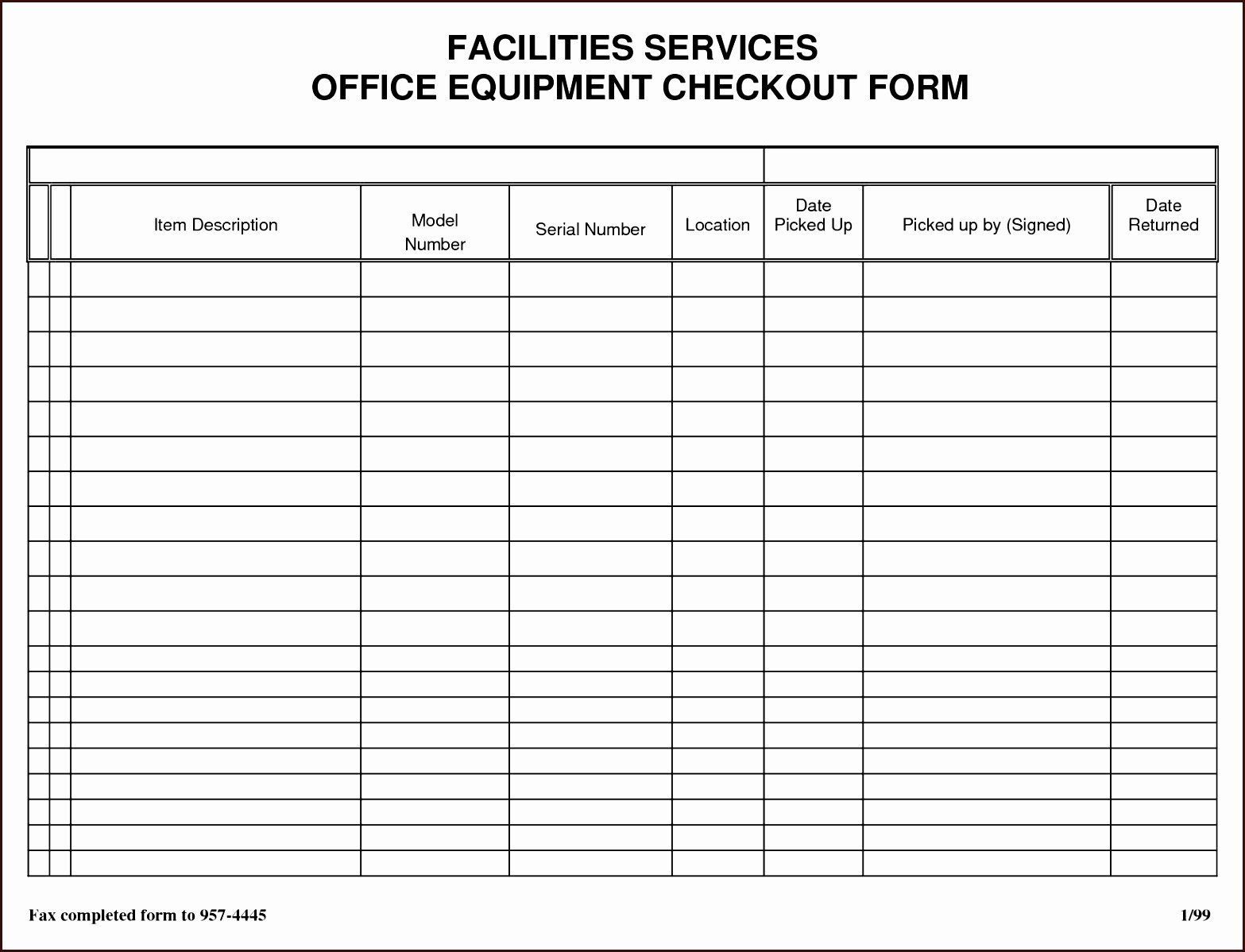 001 Incredible Equipment Sign Out Sheet Template Concept  Pdf Free PrintableFull