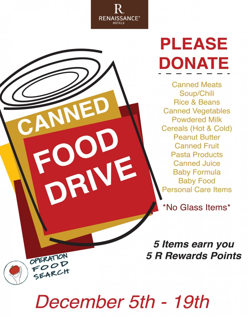 Free Food Drive Flyer Template from www.addictionary.org