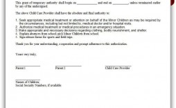 001 Incredible Free Child Medical Consent Form Template Highest Quality  Pdf