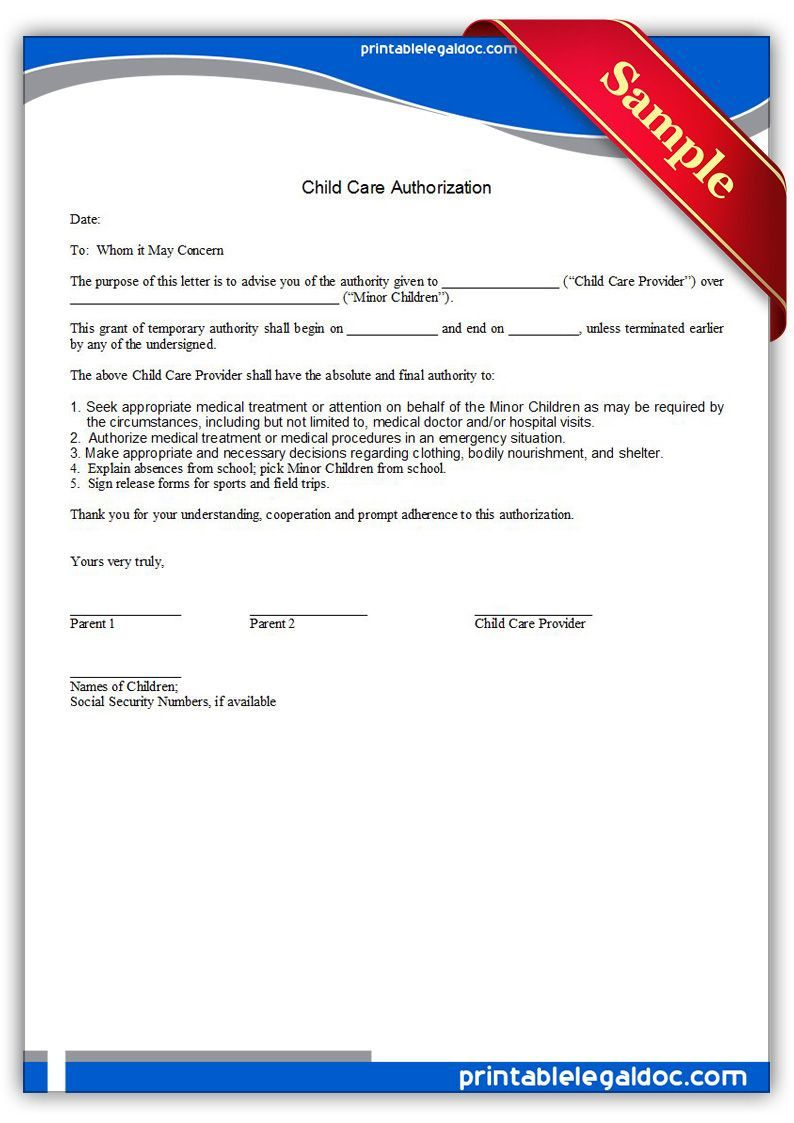 001 Incredible Free Child Medical Consent Form Template Highest Quality  PdfFull