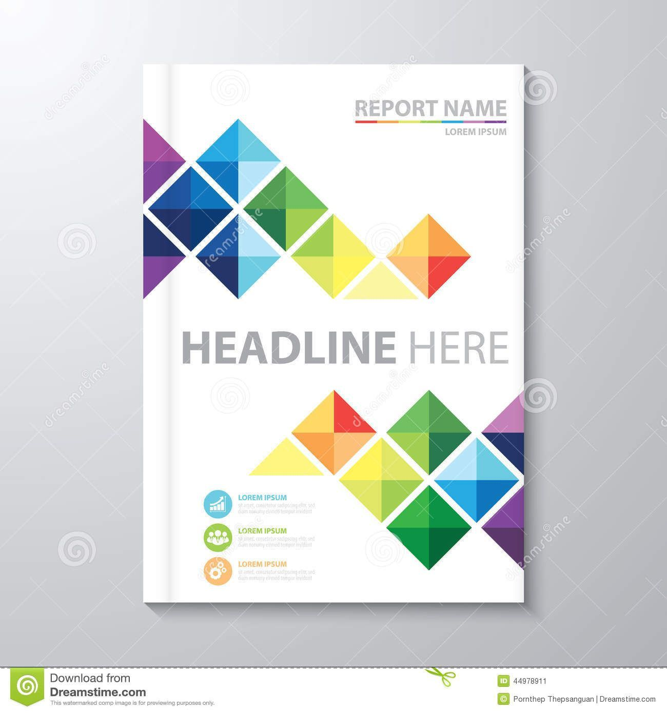 001 Incredible Free Download Annual Report Cover Design Template Example  In Word PageFull
