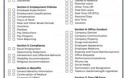 001 Incredible Free Employment Handbook Template Highest Clarity