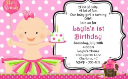 001 Incredible Free Online Birthday Invitation Maker Printable High Def  1st Card