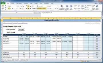 001 Incredible Free Rotating Staff Shift Schedule Excel Template Design 360