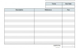 001 Incredible Generic Service Invoice Template Highest Quality