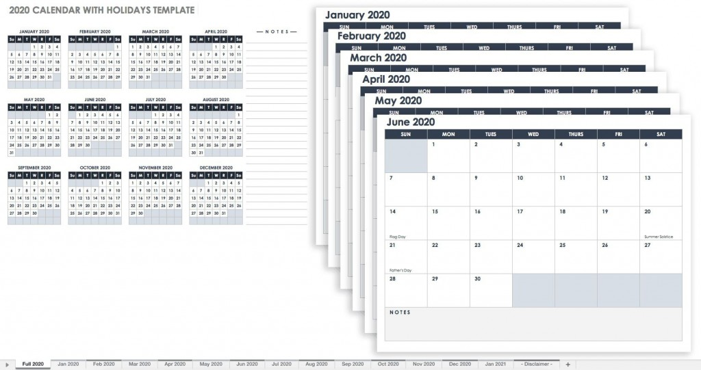 001 Incredible Google Sheet Calendar Template 2020 High Definition  Monthly And 2021 2020-21Large
